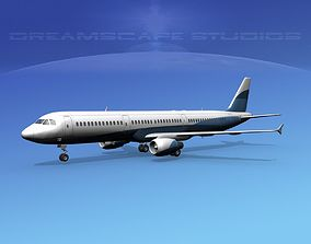 3D model Airbus A321 Corporate 7
