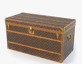 3D Louis Vuitton Trunk