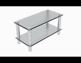 Mini glass table 3D model