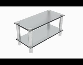 Mini glass table 3D model