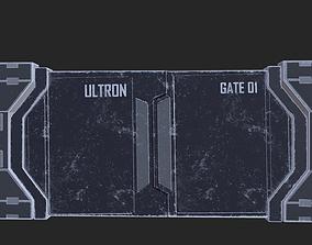 3D model Sci-Fi Door - Gate