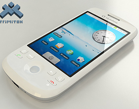 3D model HTC Magic - Vodafone edition - 2009 - White