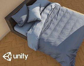 3D asset Enlight Bed 03