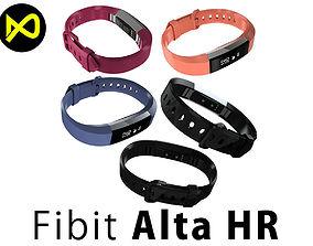 Fitbit Alta HR All Colors 3D