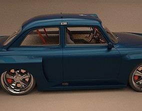 VW Type 3 notchback 1963 modified 3D