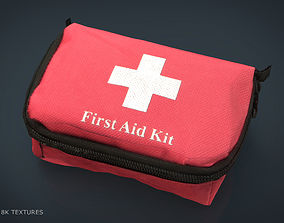 FIRST AID KIT 3D model low-poly