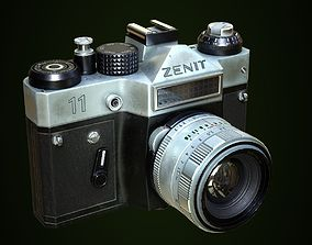 3D asset Zenit 11 photocamera