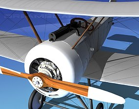 3D Sopwith Pup Fighter Unmarked