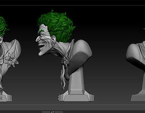 Joker STL model for 3d printing