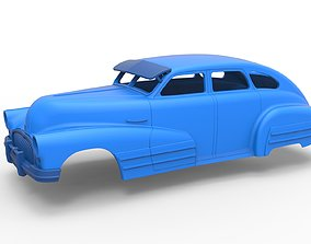 3D print model Diecast shell Oldschool car Scale 1 to 24