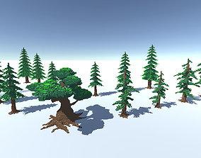 Full Packed Tree Voxel 3D asset
