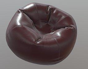 Beanbag Armchair 3D asset