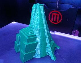 Triple Tower Vase 3D print model