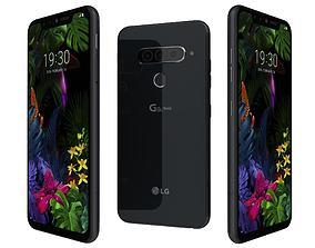 LG G8s ThinQ New Aurora Black 3D