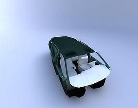 3D model 1996 Dodge Caravan Interior