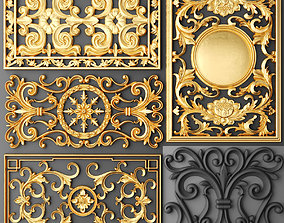 Fretwork SET 3D 12 baroque