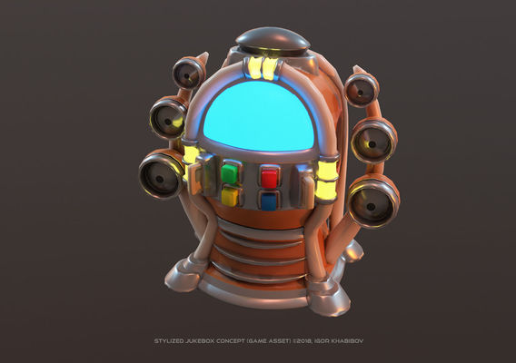 Stylized Jukebox
