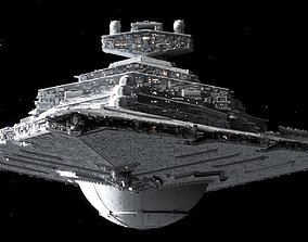 star wars destroyer 3D