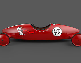 The Red Baron Soapbox Derby Car 3D