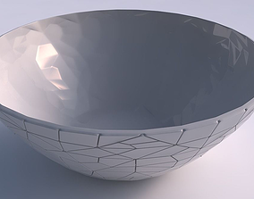 3D printable model Bowl wide with chaos plates