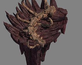 3D model Meteor Dragon Purgatory-Dragon Bone Section III