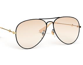 3D model Aviator Sunglasses
