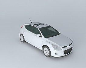 3D model 2008 Hyundai i30