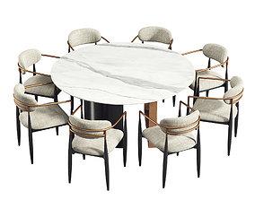 3D model Dining Set 255