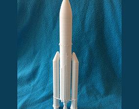 Ariane 5 rocket 3D print model