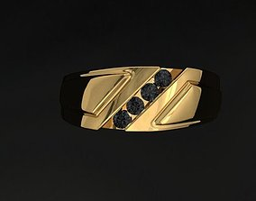 jewellery man ring 3D print model