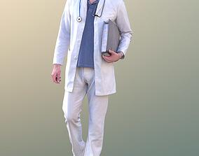 3D asset Lars 10431 - Walking Doctor
