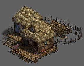 Original village - house 1 3D
