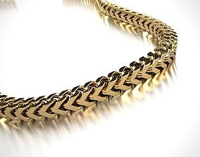 5MM FRANCO LINK CHAIN FOR NECKLACE OR 3D print model
