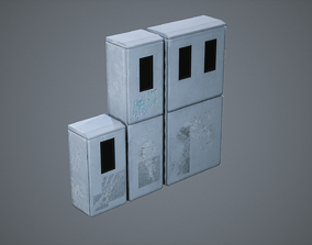 3D model Electrical Breaker Boxes