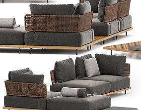 3D QUADRADO OUTDOOR SOFA SET2