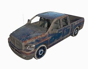 Abandoned Truck 10 3D model
