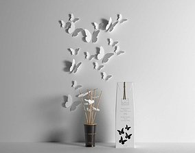 Butterfly Composition 3D