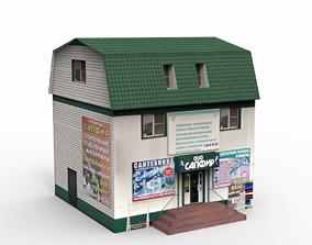 3D asset Sapphire Shop