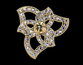 Gold ring 198 3D print model