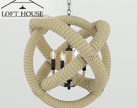 3D rigged LOFT HOUSE