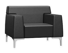 3D Las Mobili Jera Lounge Armchair