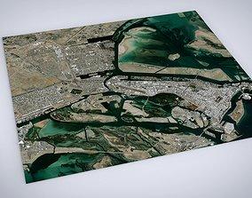 3D model Cityscape Abu Dhabi United Arab Emirates