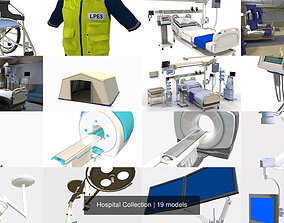 Hospital Collection 3D model