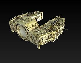 3D Space Freighter - Devils Ark
