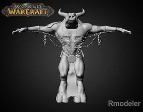 3D model Tauren Shaman