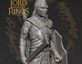 Lurtz Uruk-Hai The Lord of the Rings 3D print model