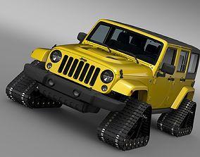 Jeep Wrangler Unlimited X1 Crawler 2016 3D