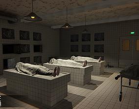 Morgue - Interior 3D asset