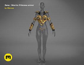 Xena - Warrior Princess cosplay armor 3D printable model