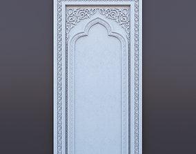 3D ornamental Islamic arch